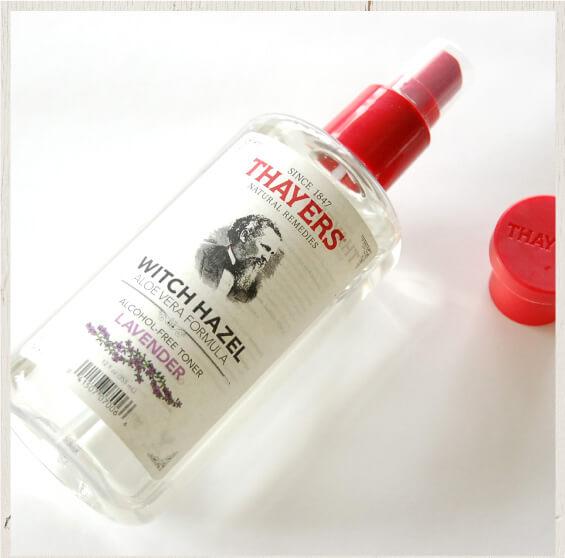 セイヤーズウィッチヘーゼル化粧水ラベンダー【日本限定】スプレーヘッドが使いやすい!