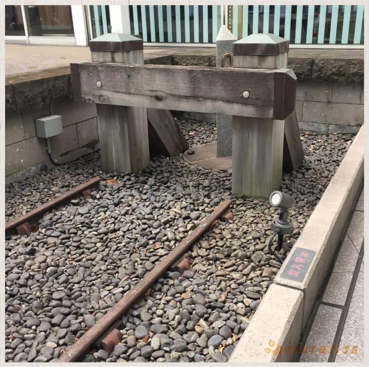 旧新橋停車場プラットフォーム