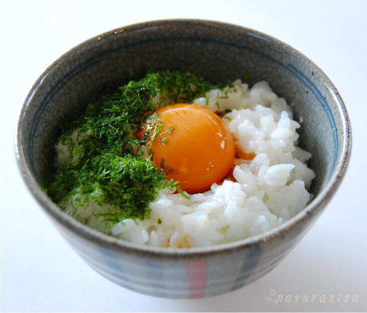 卵がけご飯ふわふわメレンゲ
