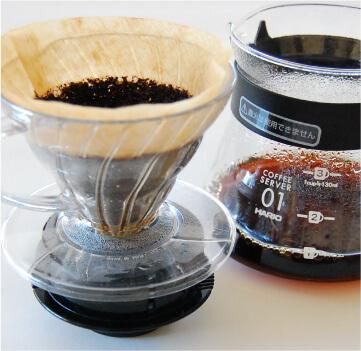 HARIOV60コーヒー美味しい淹れ方