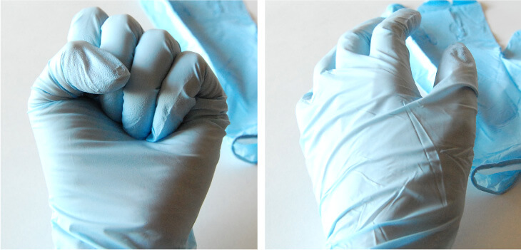 キマックスベルテ717使い捨てゴム手袋