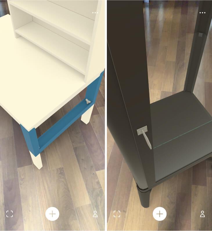 イケアVRアプリ IKEA-PLACE