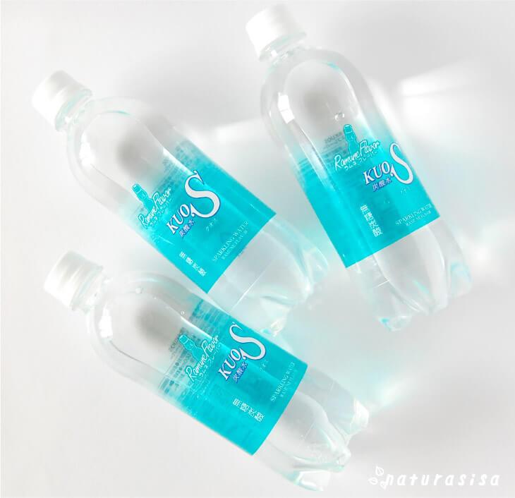 kuosクオスフレーバー炭酸水