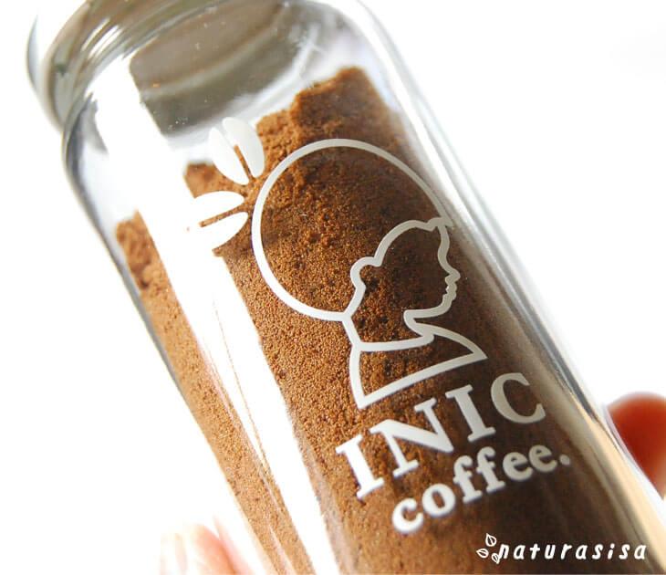 INICcoffeのコーヒー瓶