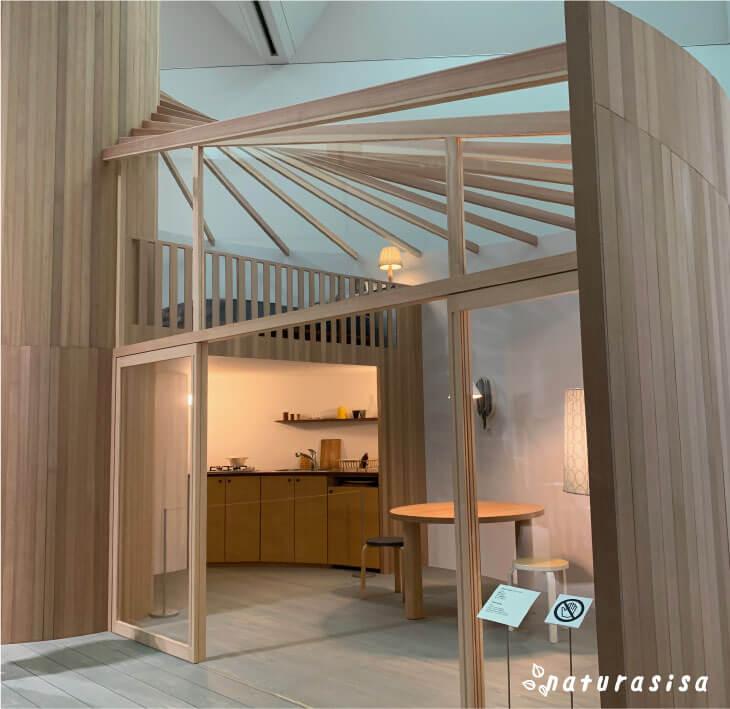 ミナペルホネン展覧会の家