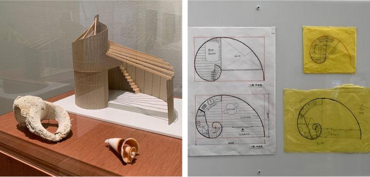 ミナペルホネン展覧会の家と設計図