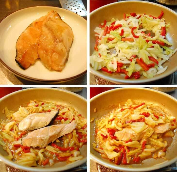 クラシルミールキット人気の時短レシピ|ちゃんちゃん焼