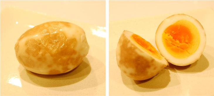 燻製麦ぬか床で茹で卵を漬けた口コミレビュー