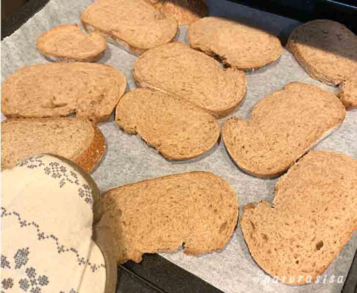 ピカール全粒粉パン作り方