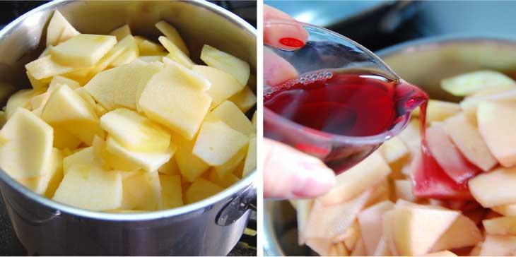 砂糖を使わないアップルパイレシピ
