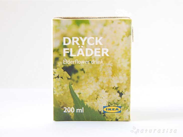 IKEA-ELDERFLOWER-DRINK イケアエルダーフラワードリンクの口コミレビュー