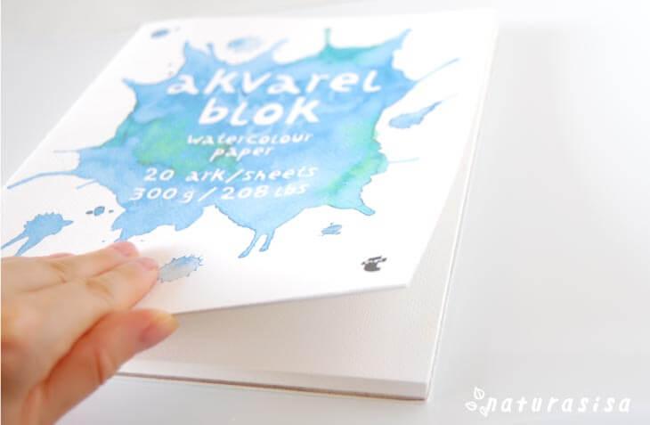 フライングタイガーおすすめお絵描き画材水彩用紙