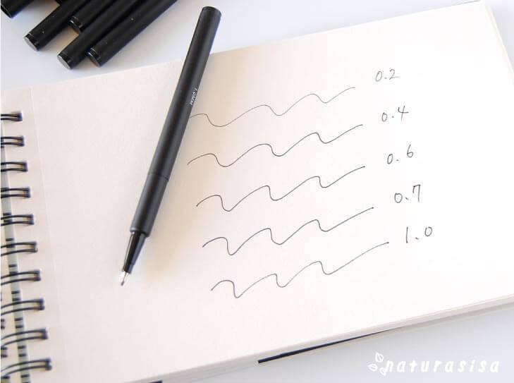 フライングタイガーおすすめお絵描き画材ドローイングペン